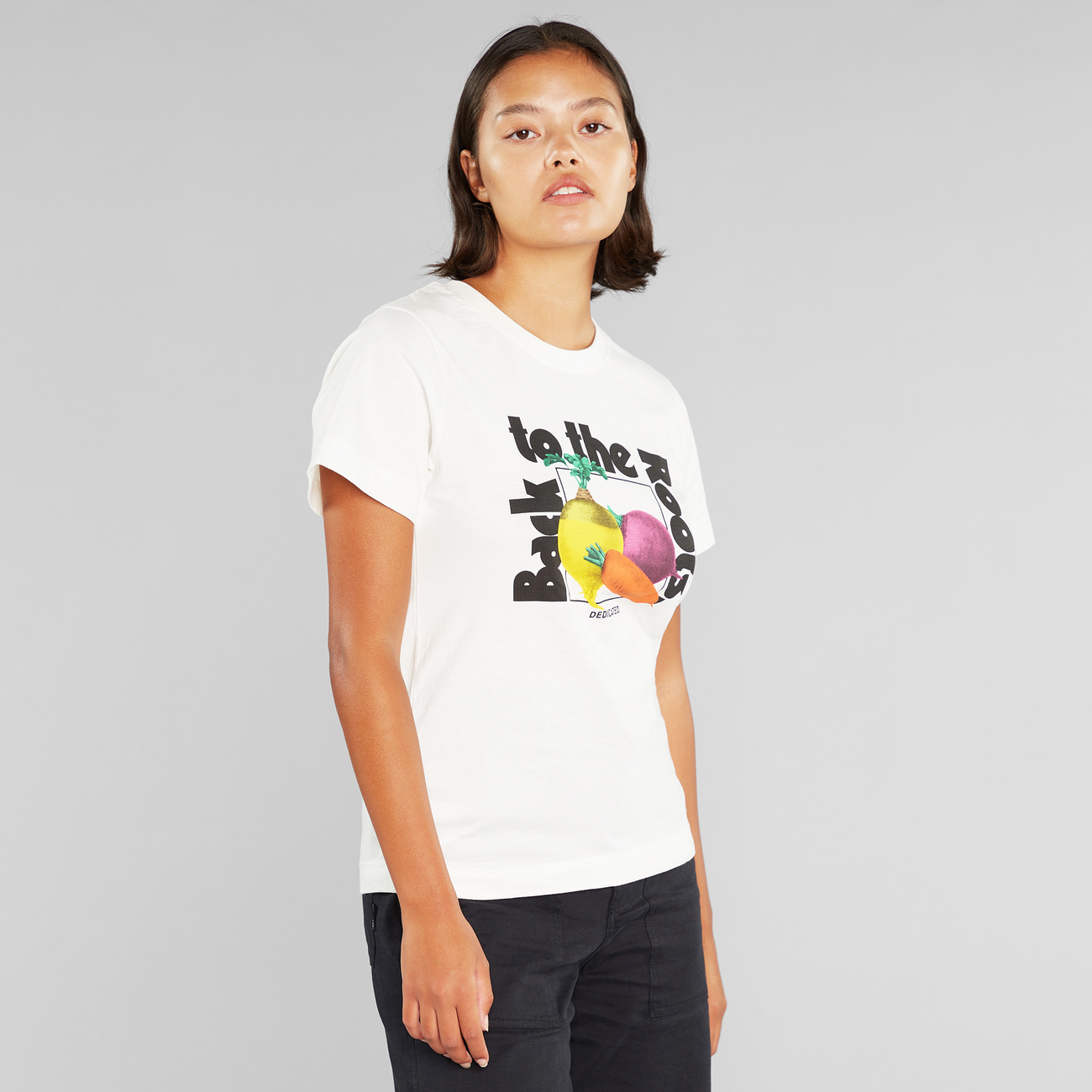 T-shirt Mysen The Roots Off-White
