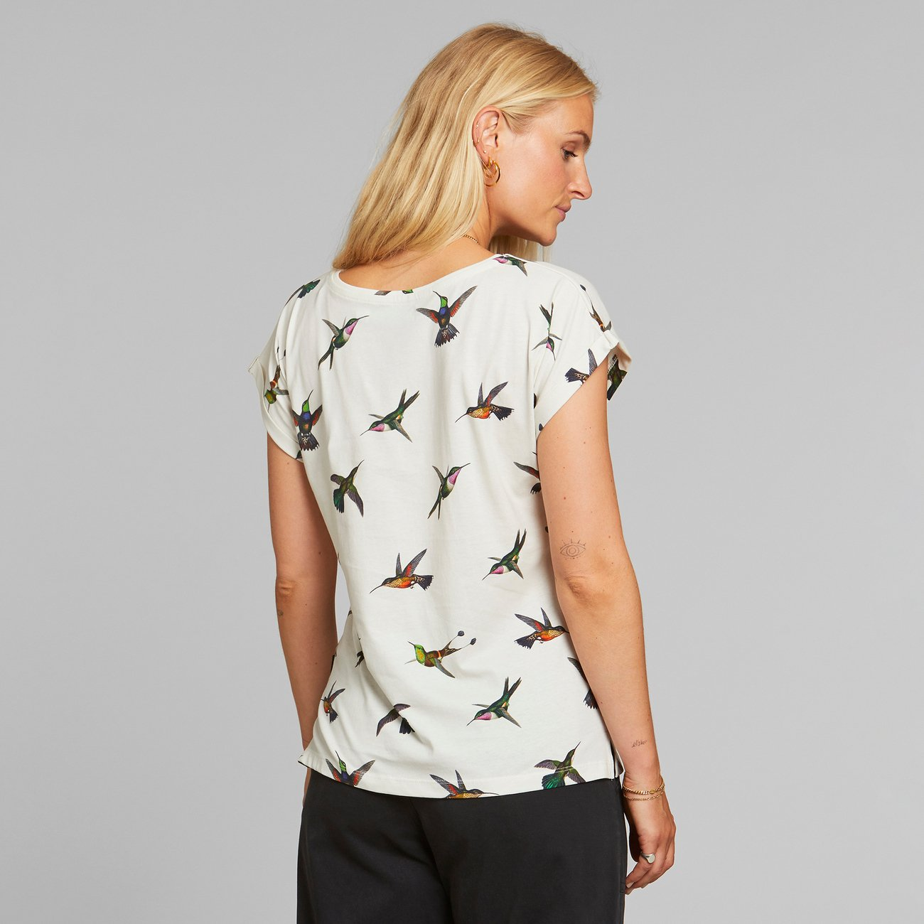 T-shirt Visby Hummingbirds Off-White