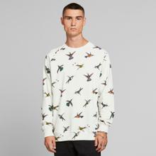 Sweatshirt Malmoe Hummingbirds Off-White