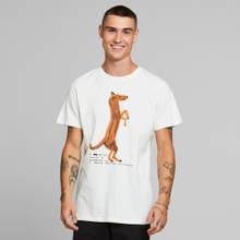 T-shirt Stockholm Do Not Dance Off-White