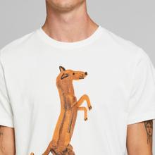 T-shirt Stockholm Do Not Dance Off-White