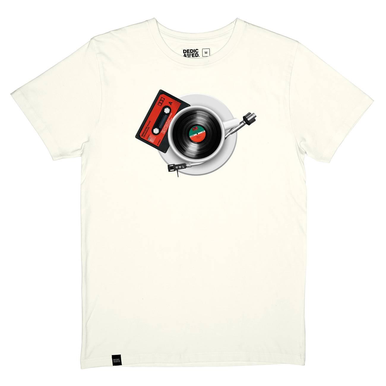 T-shirt Stockholm Morning Music Off-White