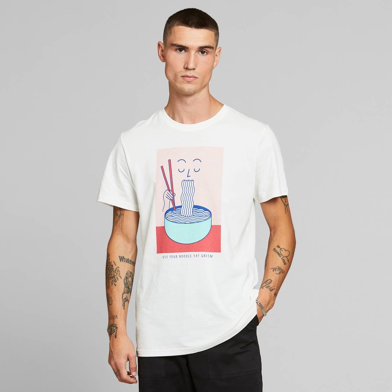 T-shirt Stockholm Noodle Off-White