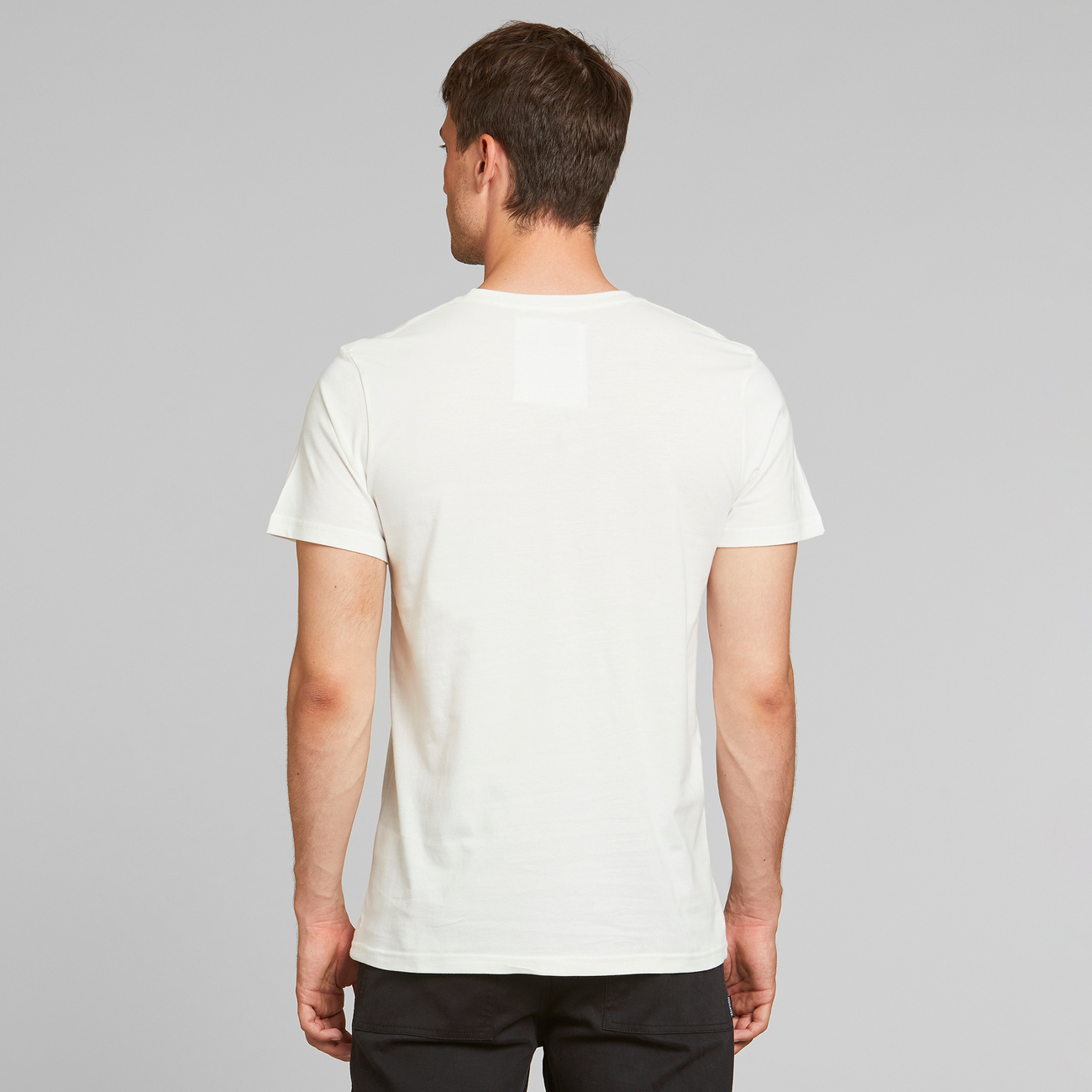 T-shirt Stockholm Simplicity Bike Off-White