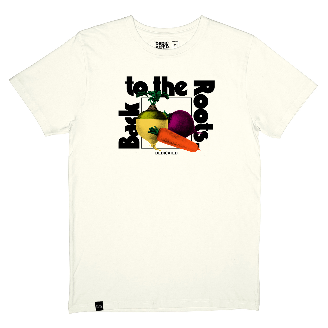 T-shirt Stockholm The Roots Off-White