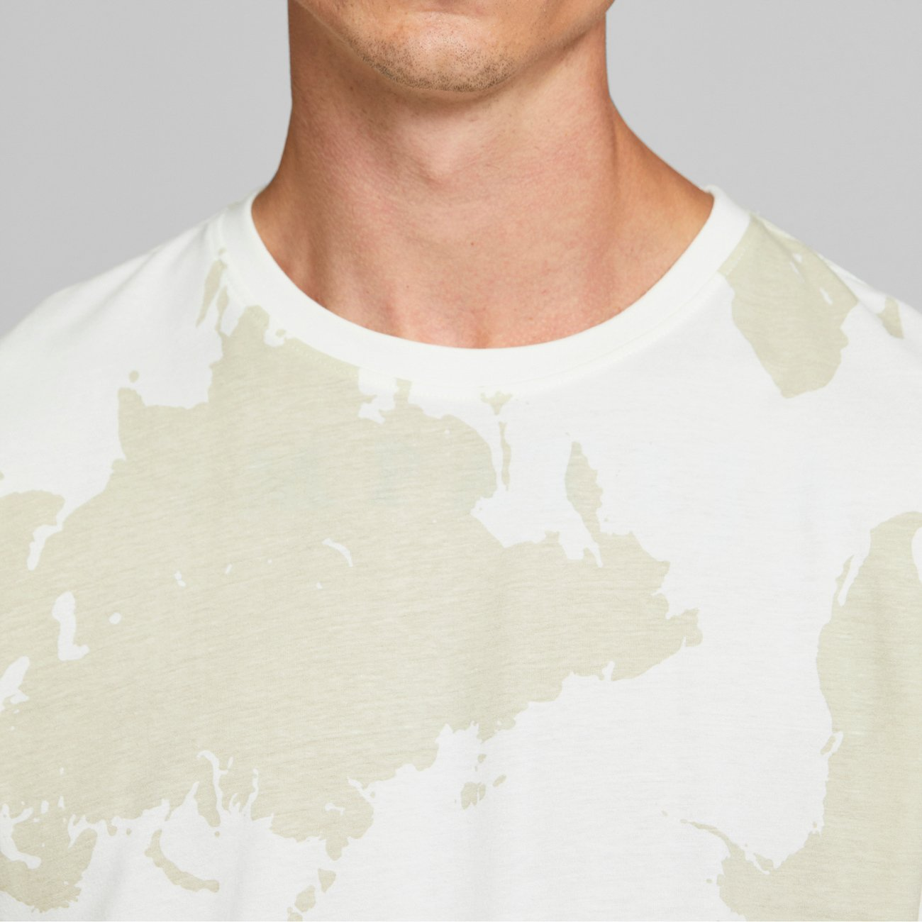 T-shirt Stockholm World Off-White