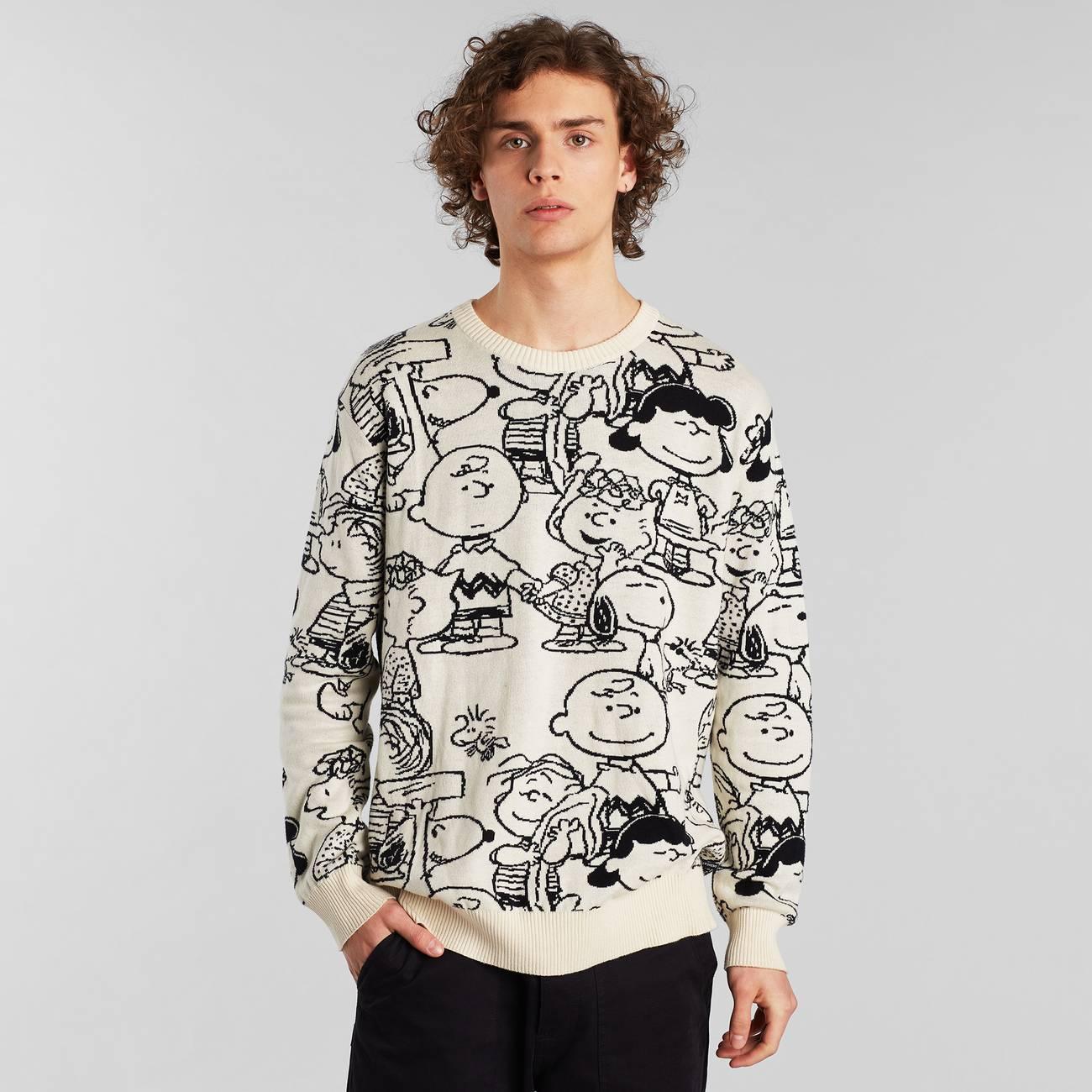 Sweater Mora Peanuts AOP Off-White