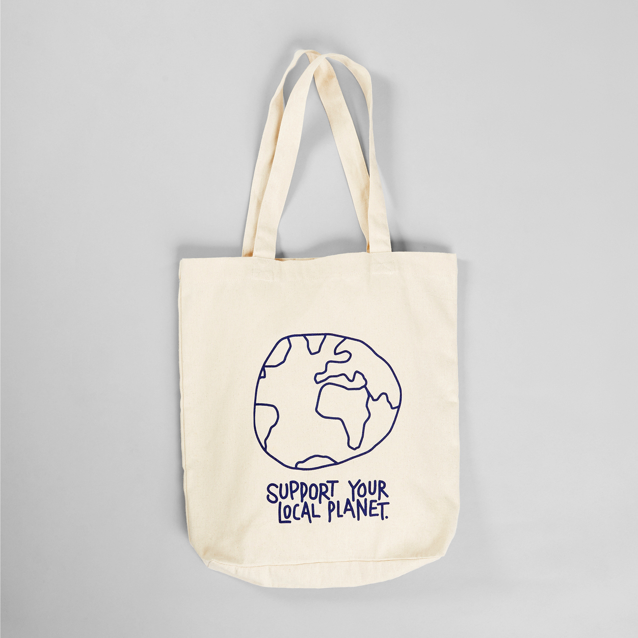 Tote Bag Torekov Local Planet Off-White