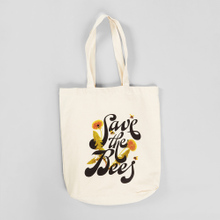 Tote Bag Torekov Save The Bees Off-White