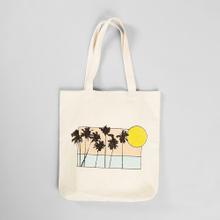 Tote Bag Torekov Sunset Palms Off-white
