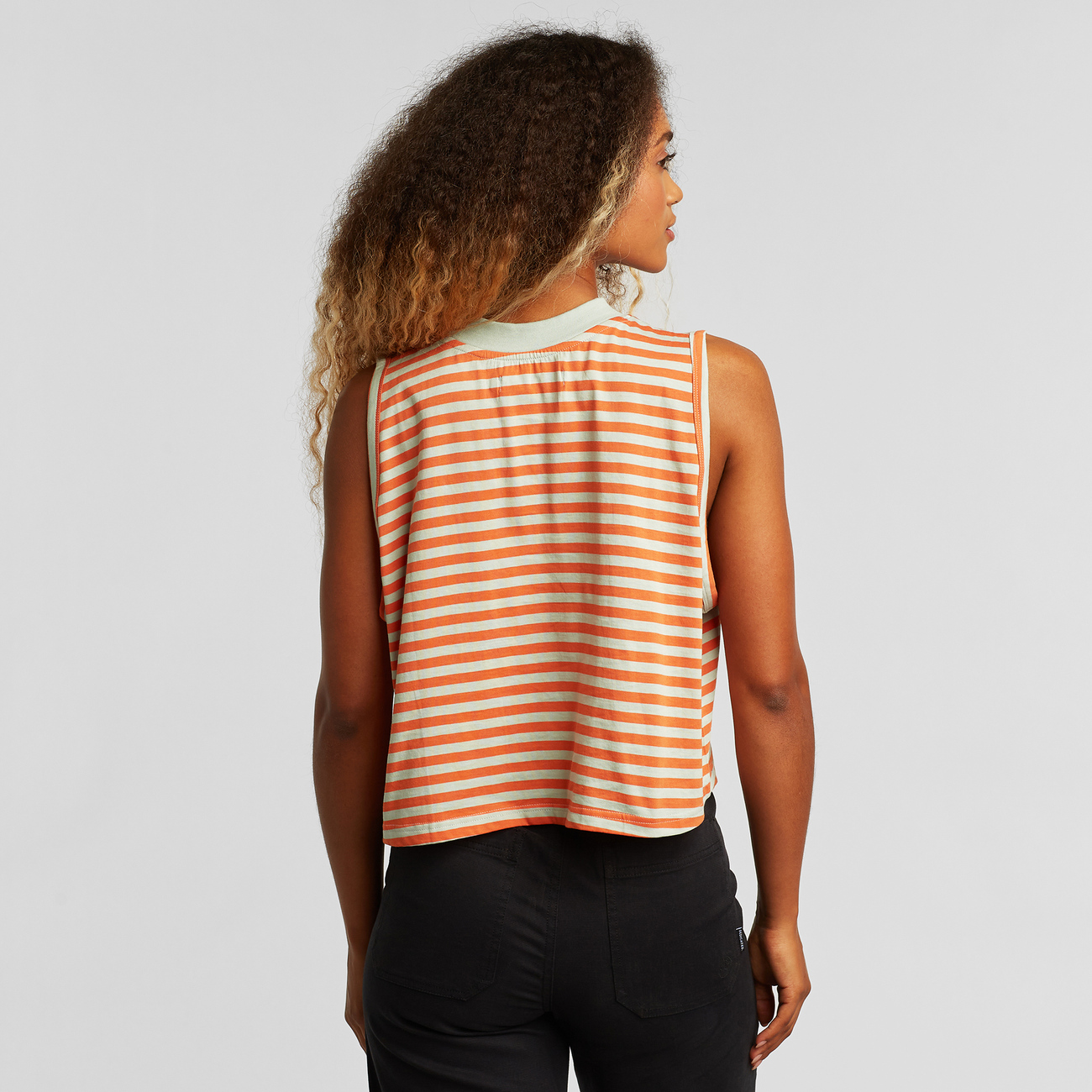 Top Namsos Stripes Orange
