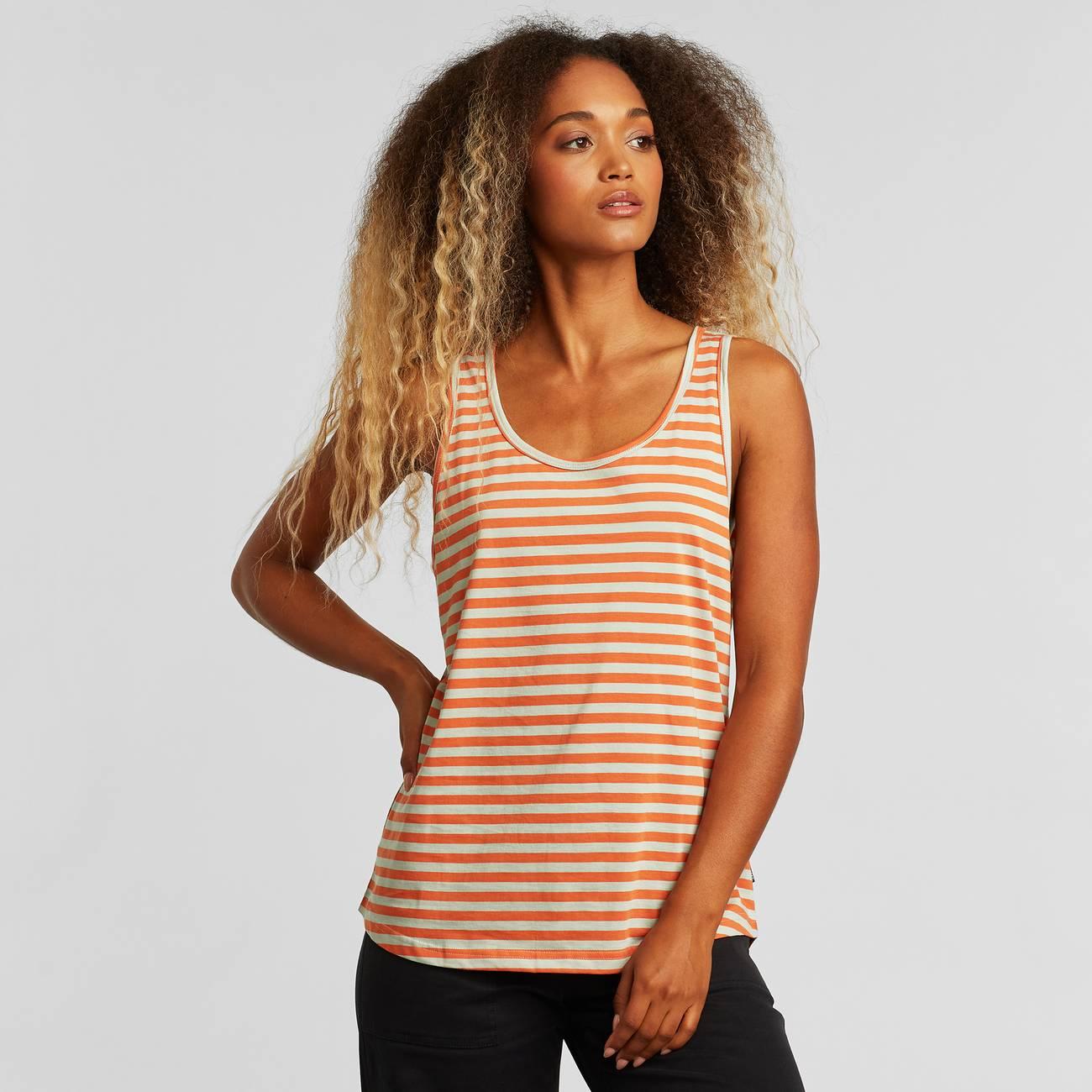Top Nora Stripes Orange