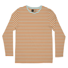 Long Sleeve T-shirt Hasle Stripes Orange