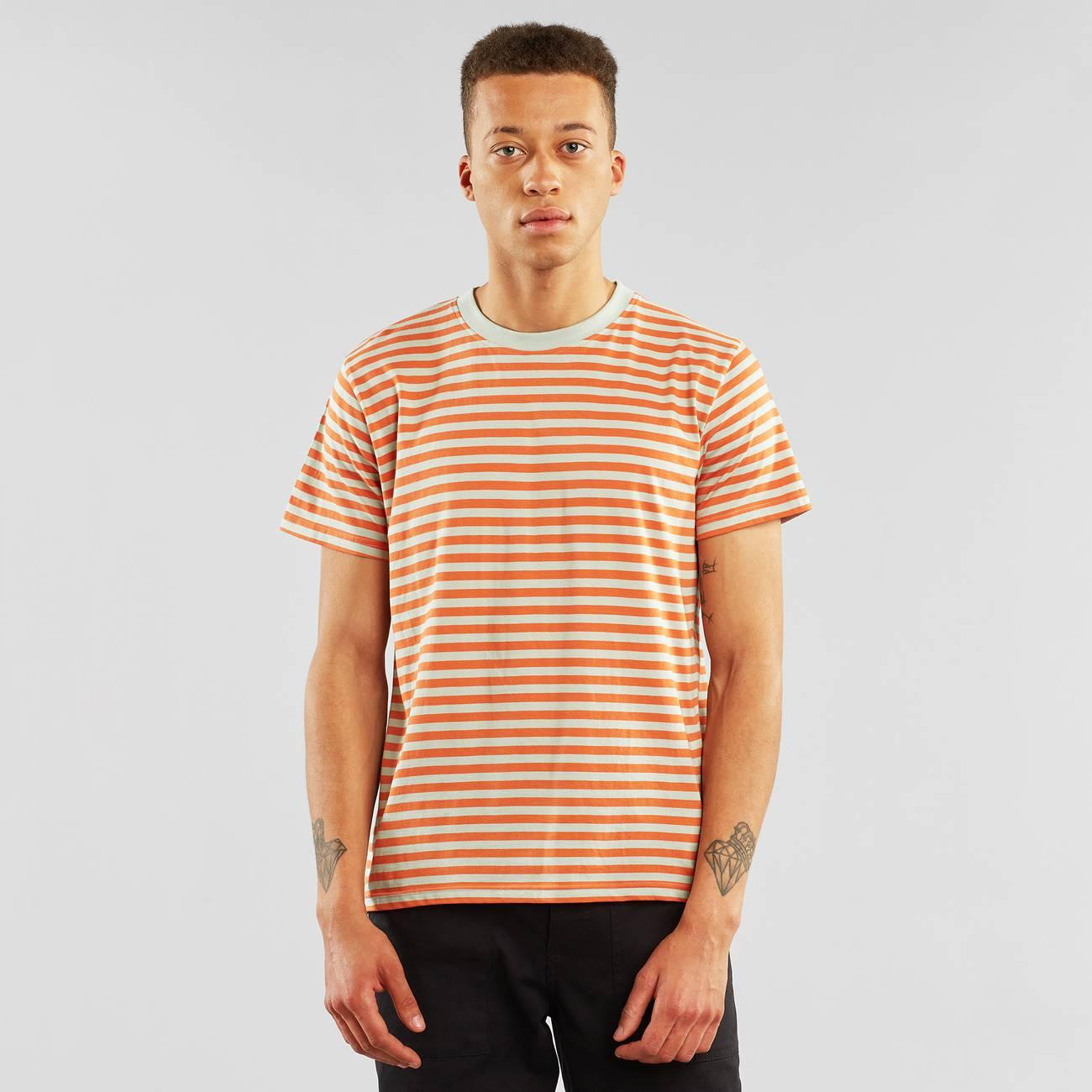 T-shirt Stockholm Stripes Orange