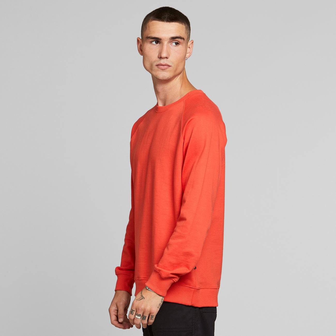 Sweatshirt Malmoe Base Pale Red