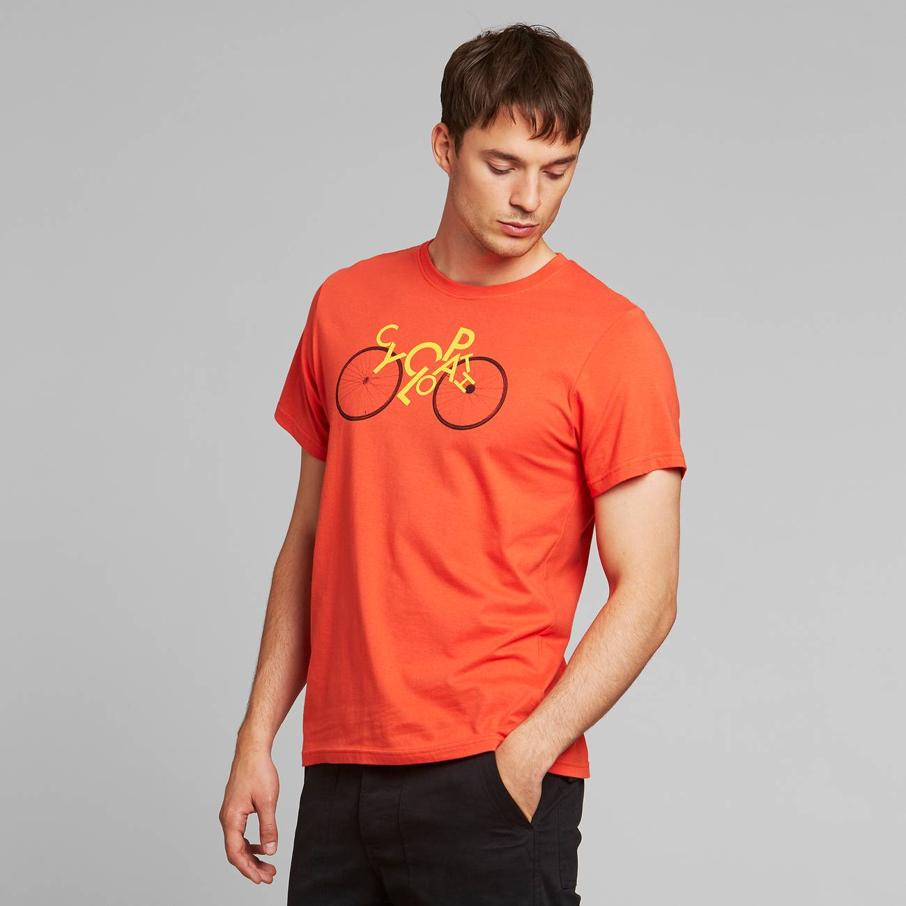 T-shirt Stockholm Cyclopath Pale Red