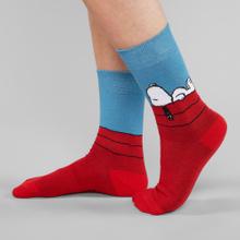 Socks Sigtuna Snoopy Red