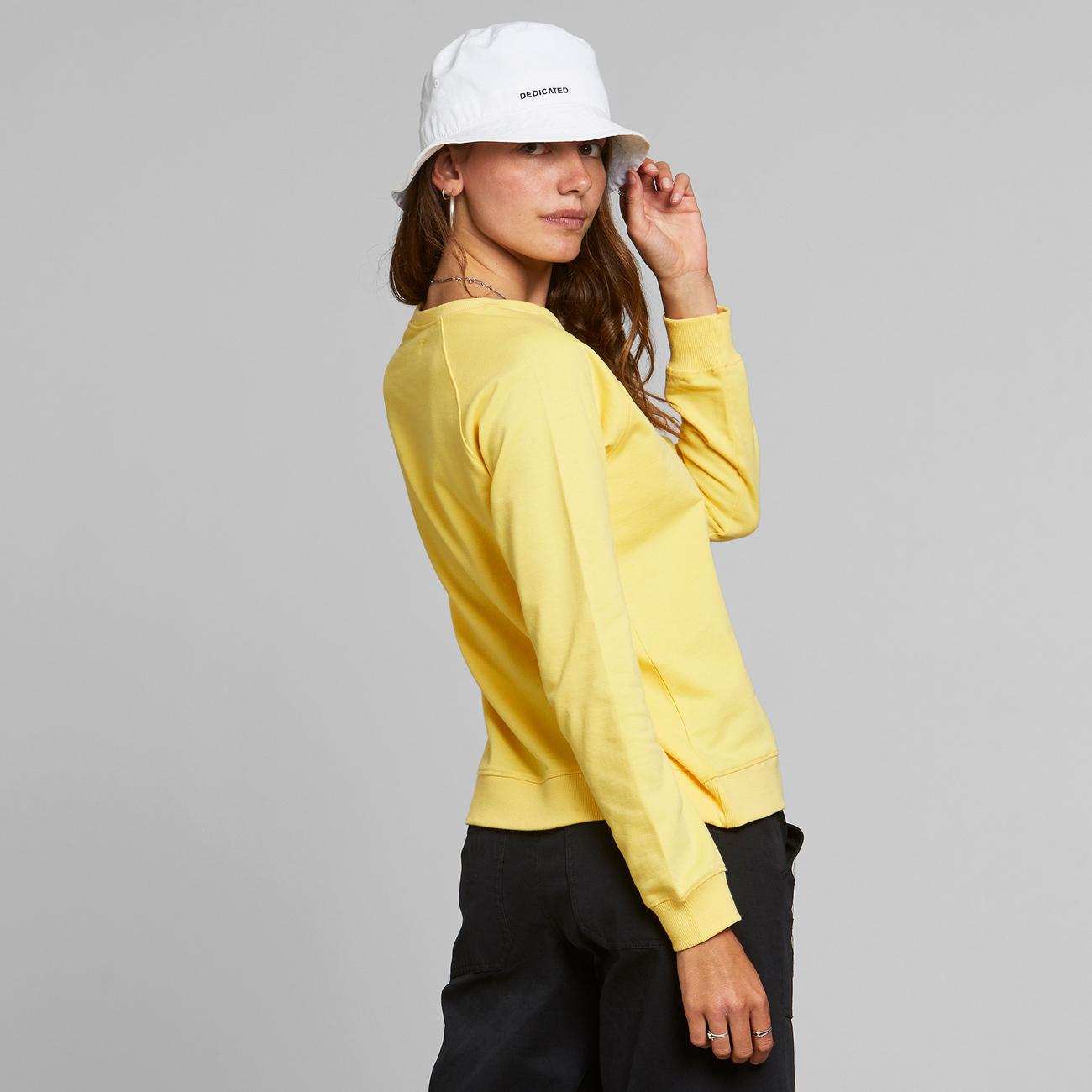 Sweatshirt Ystad Raglan Base Yellow