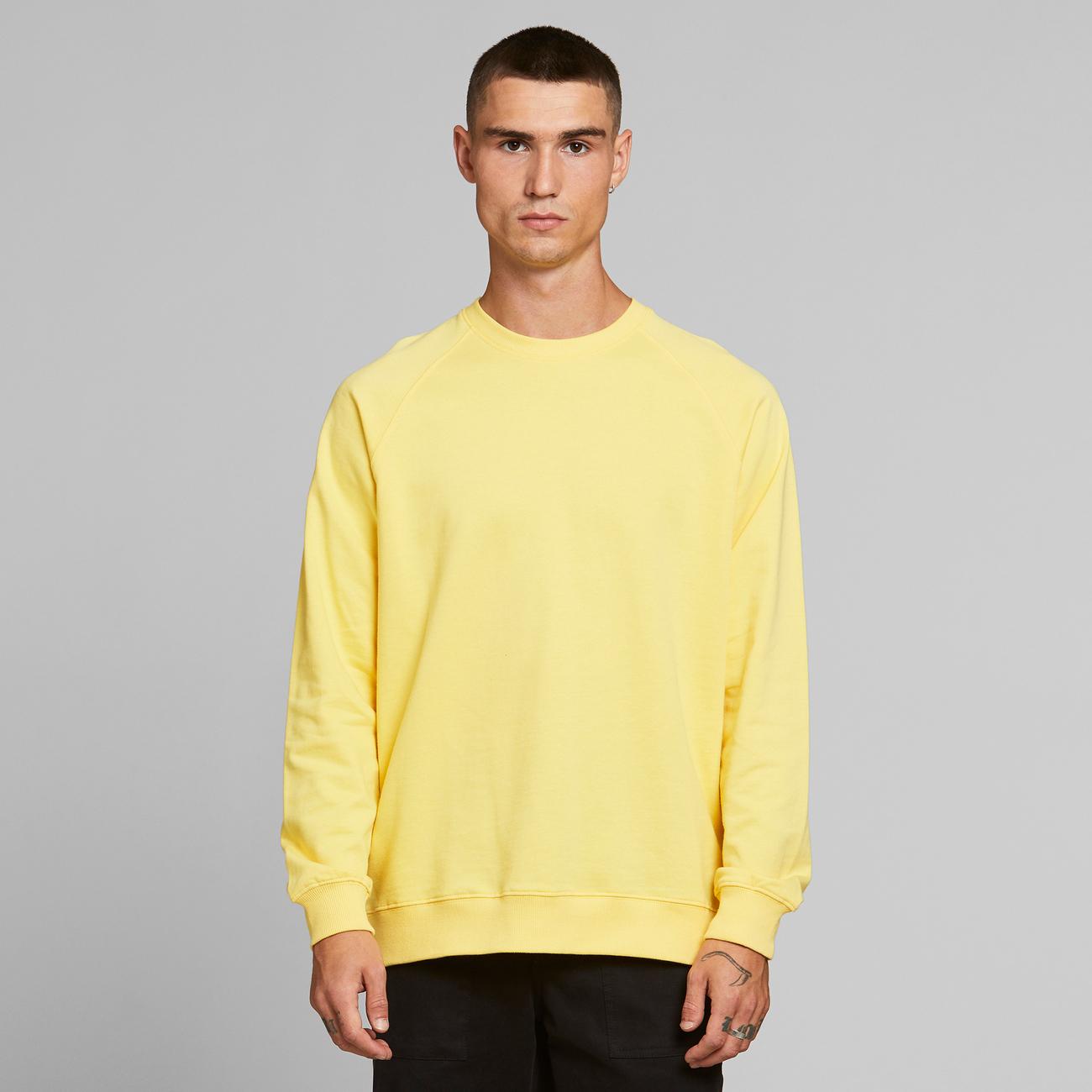 Sweatshirt Malmoe Base Yellow