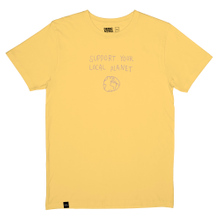 T-shirt Stockholm Local Planet Yellow