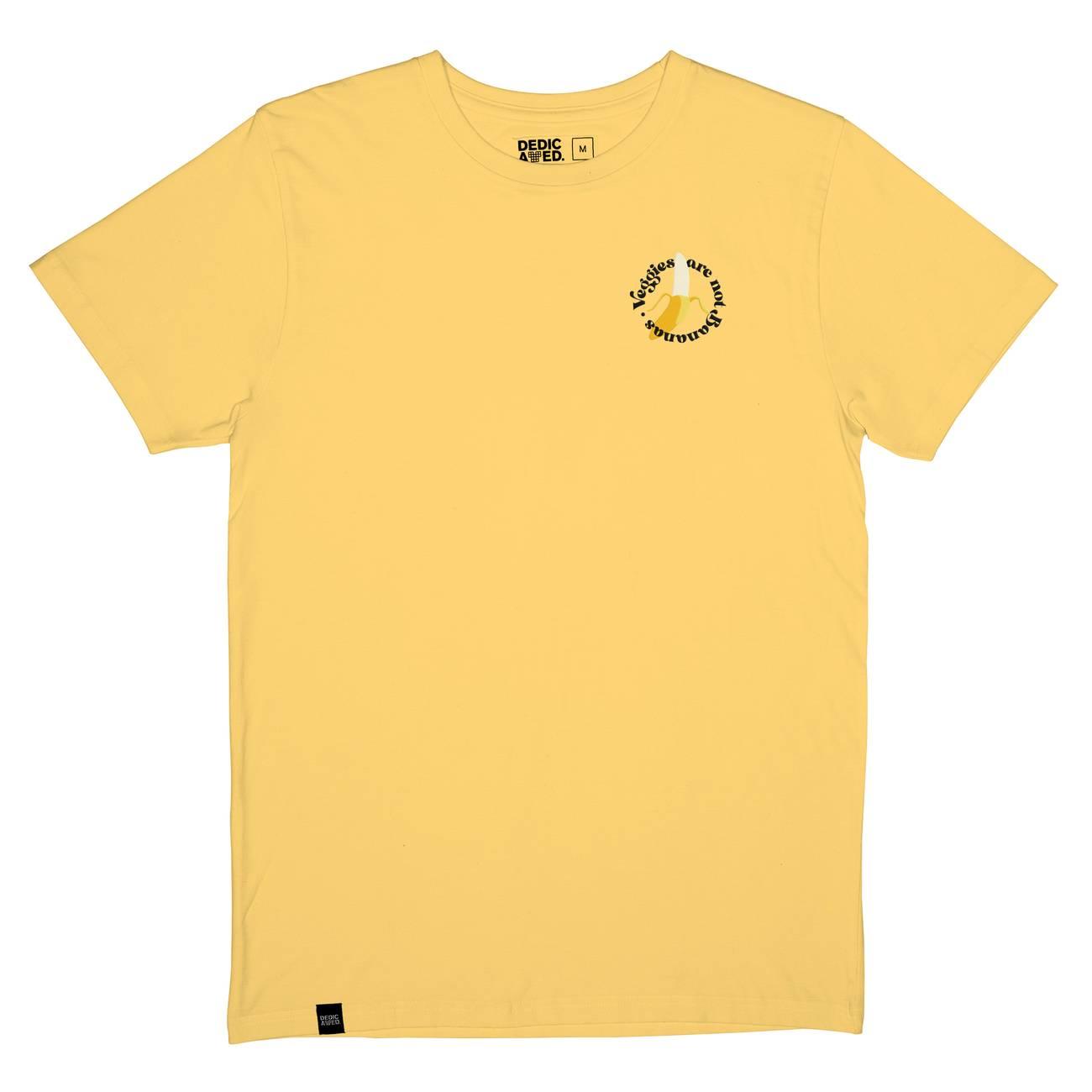 T-shirt Stockholm Not Bananas Yellow