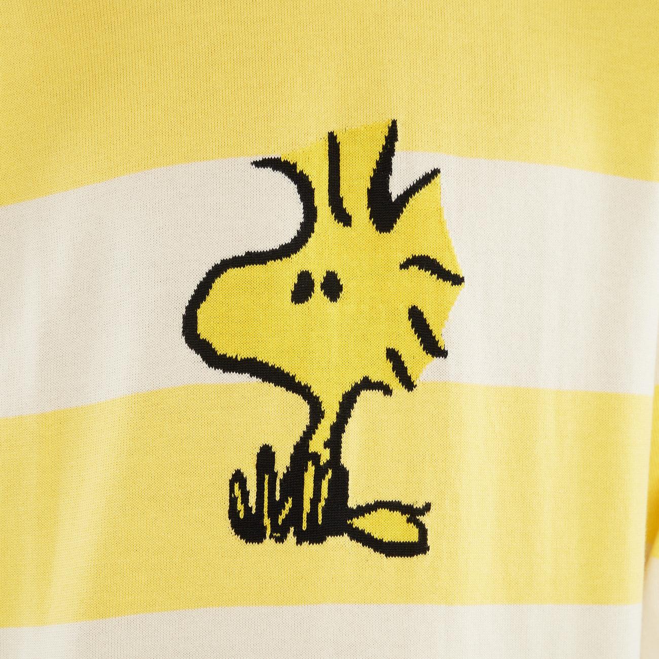 Sweater Mora Woodstock Stripe Yellow