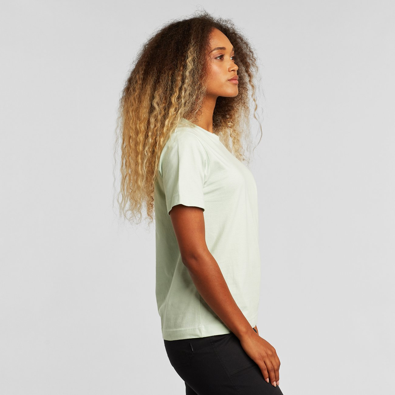 T-shirt Mysen Base Mint
