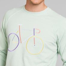 Sweatshirt Malmoe Color Bike Mint