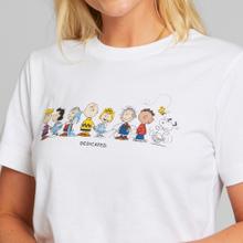 T-shirt Mysen Peanuts Crew White