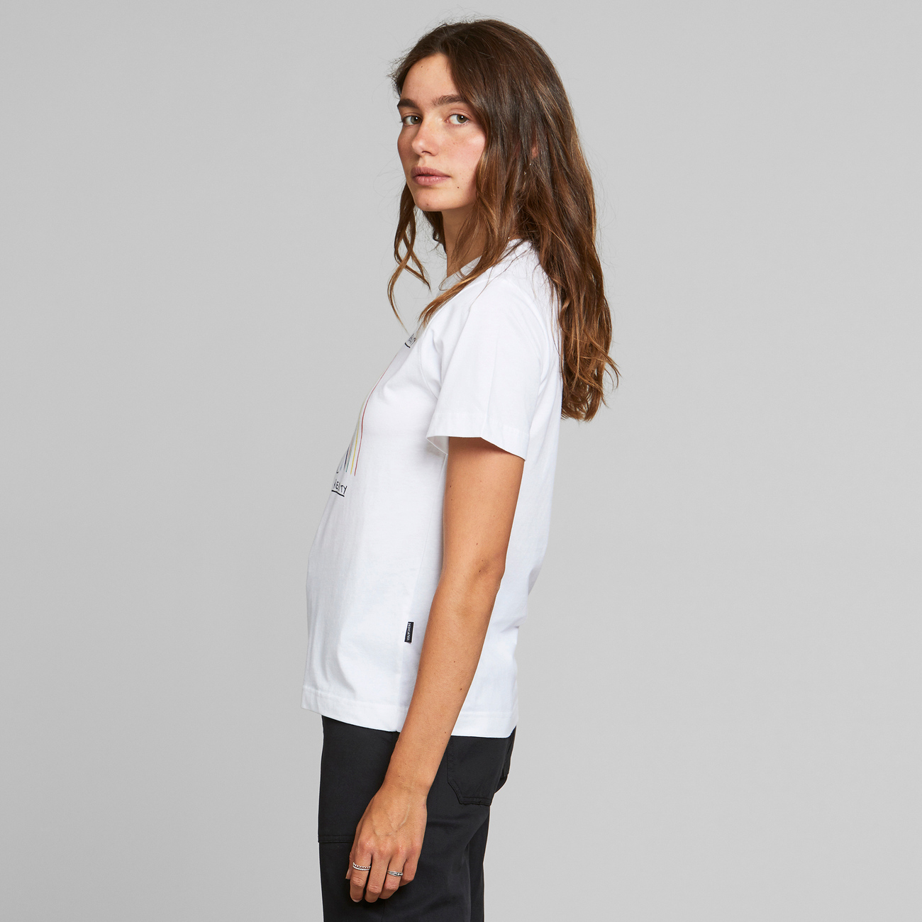 T-shirt Mysen Virtual Reality White