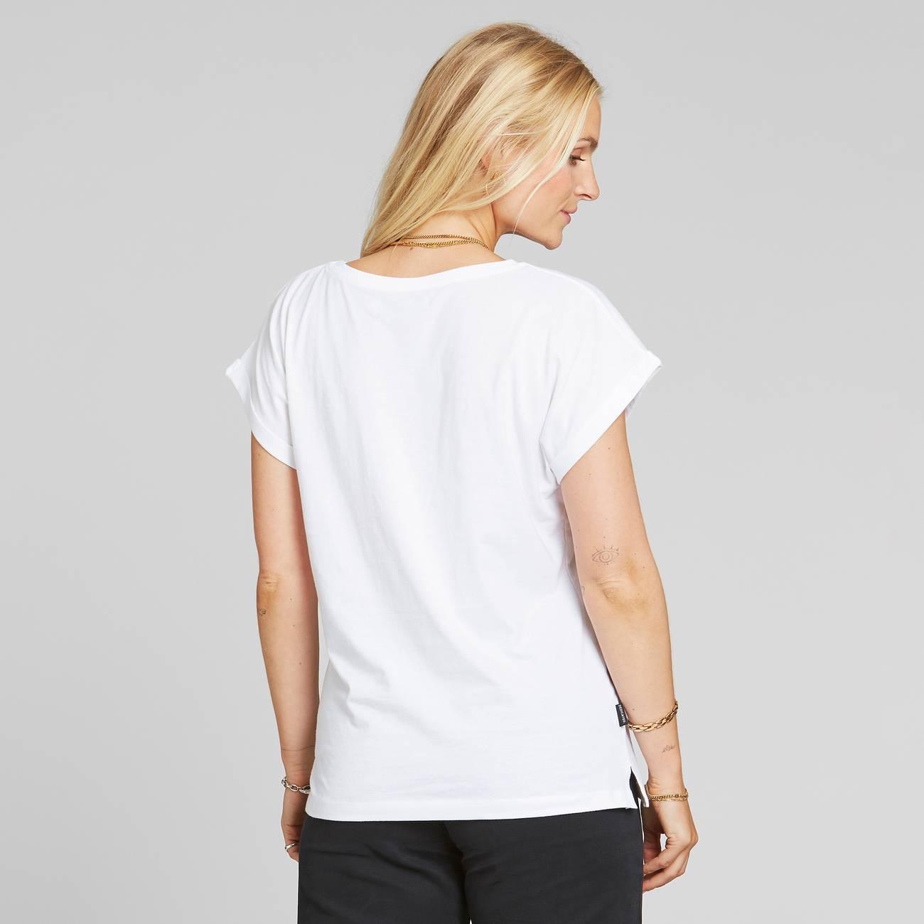 T-shirt Visby Dandelion White