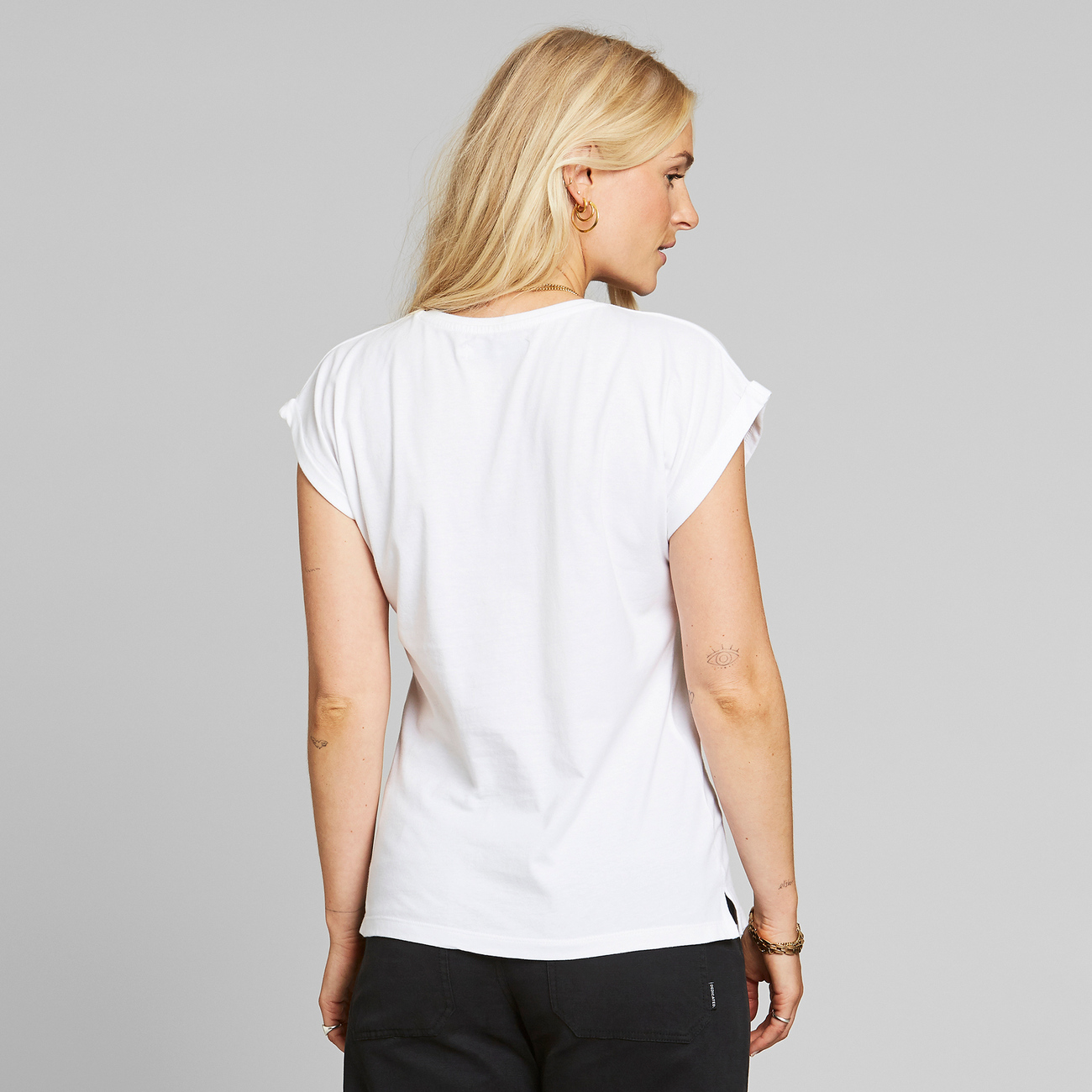 T-shirt Visby Painted Elephant White