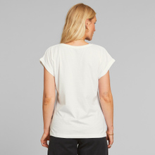 T-shirt Visby Sunset Palms White