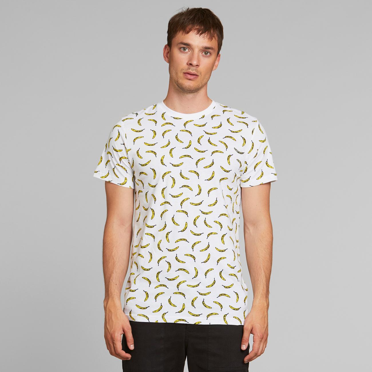 T-shirt Stockholm Bananas White