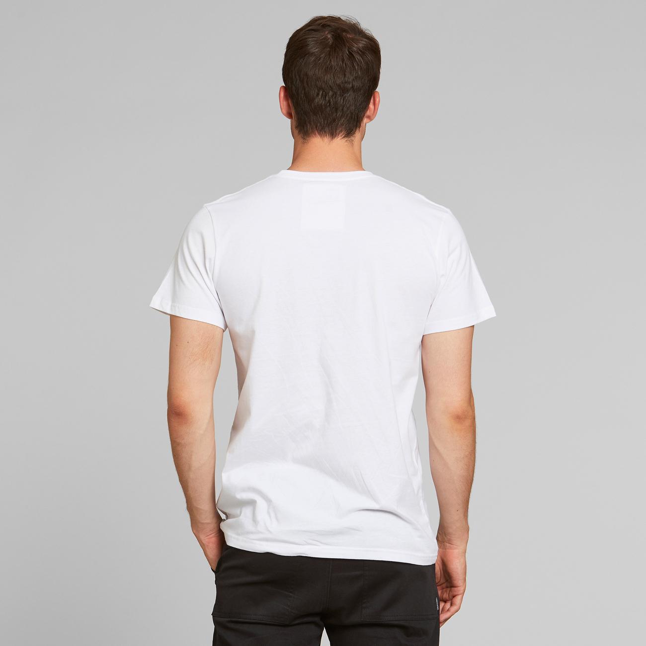 T-shirt Stockholm Lucy Nobody White