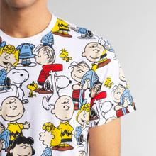 T-shirt Stockholm Peanuts AOP White