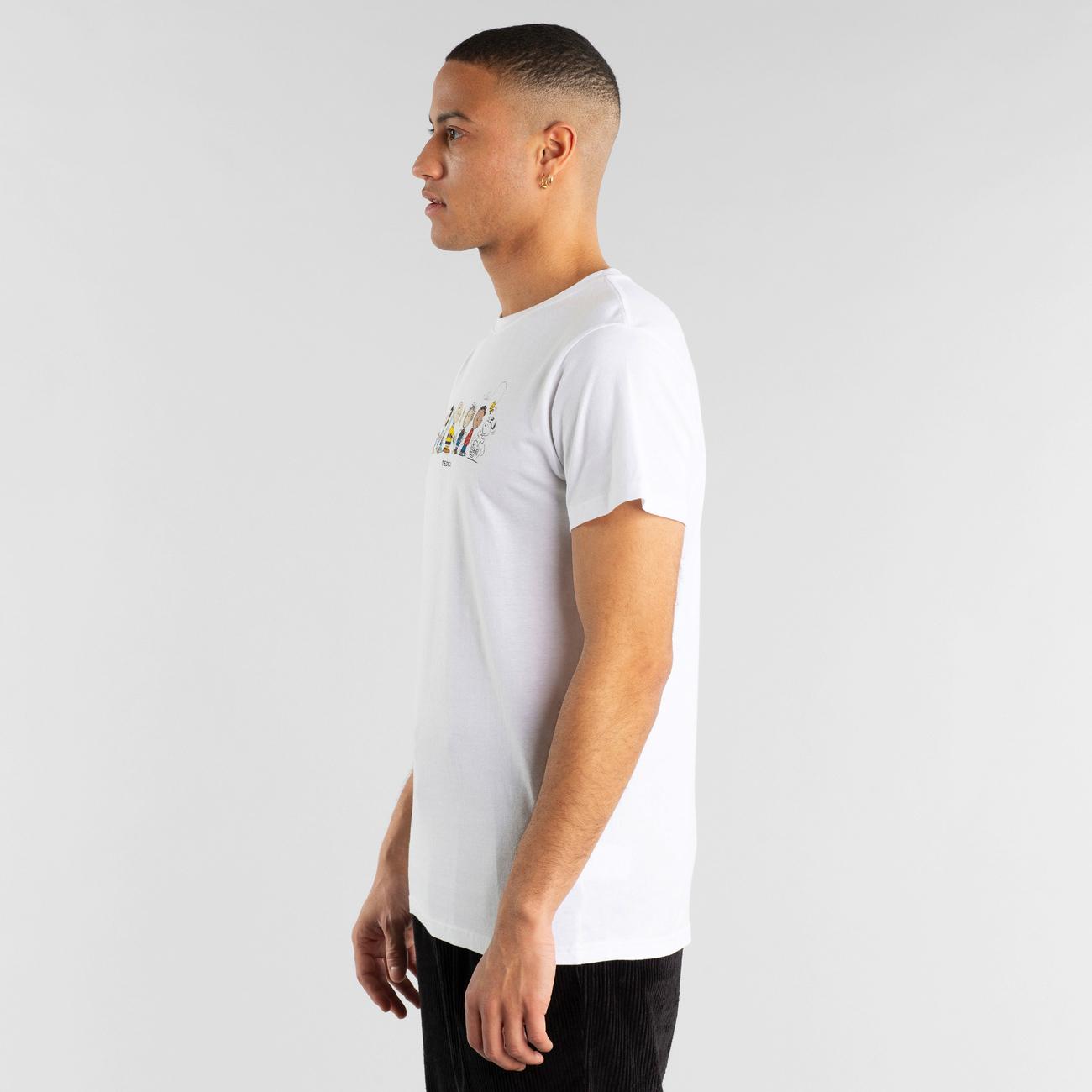T-shirt Stockholm Peanuts Crew White