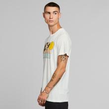 T-shirt Stockholm Sunset Palms White