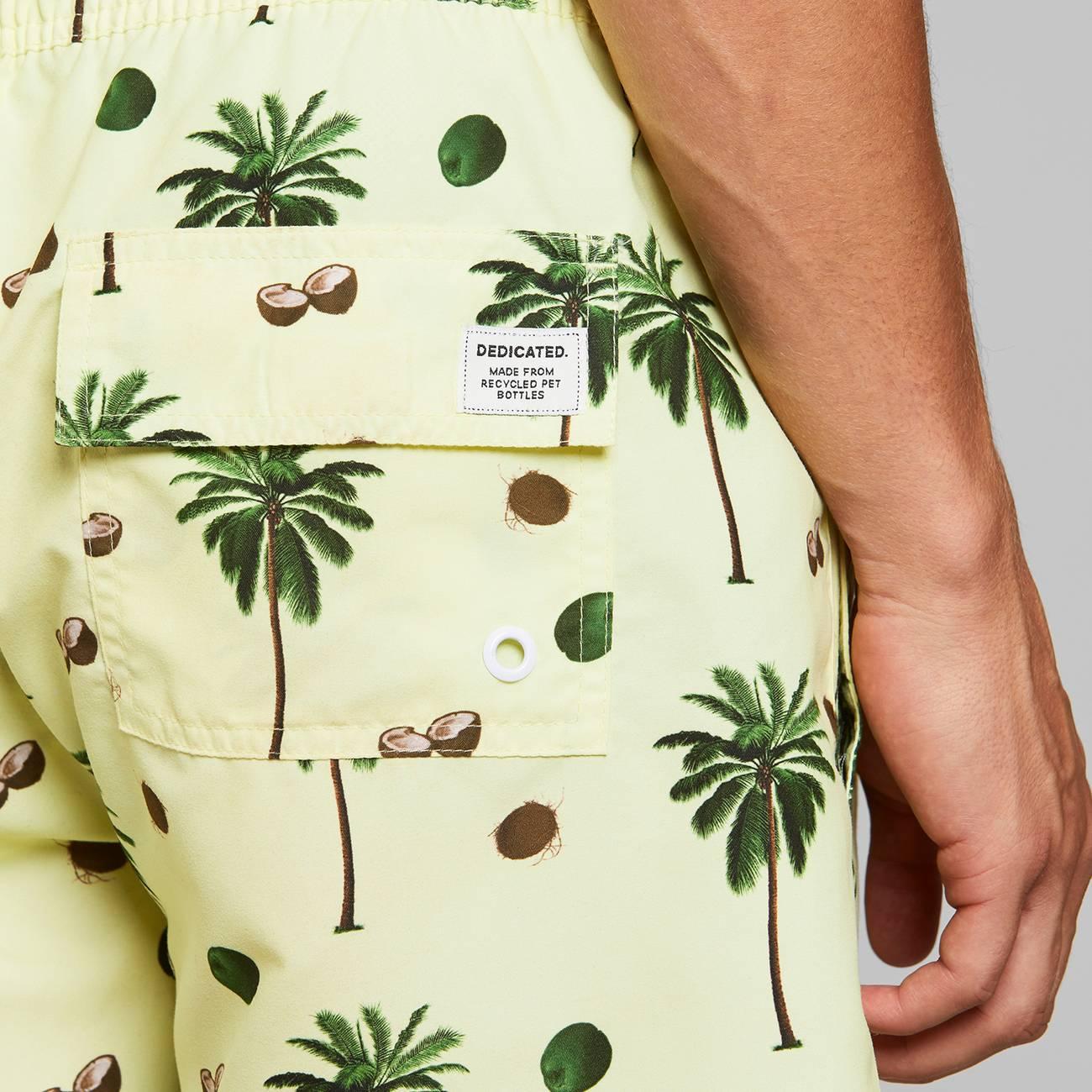 Swim Shorts Sandhamn Coconuts Yellow