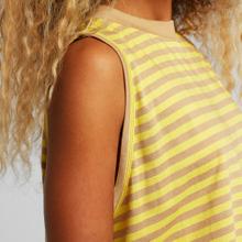 Top Namsos Stripes Yellow