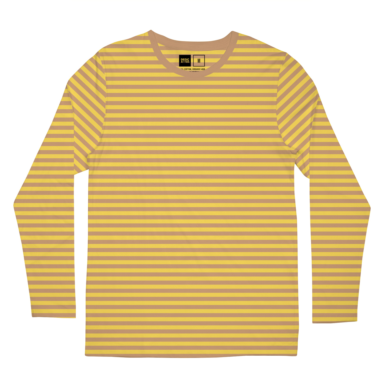 Long Sleeve T-shirt Hasle Stripes Yellow