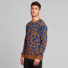 Sweater Mora Leopard Light Brown