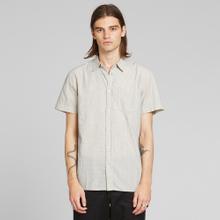 Shirt Short Sleeve Sandefjord Dobby Off White