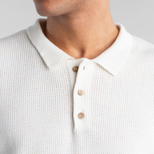 Short Sleeve Knitted Sweater Gnesta Off White