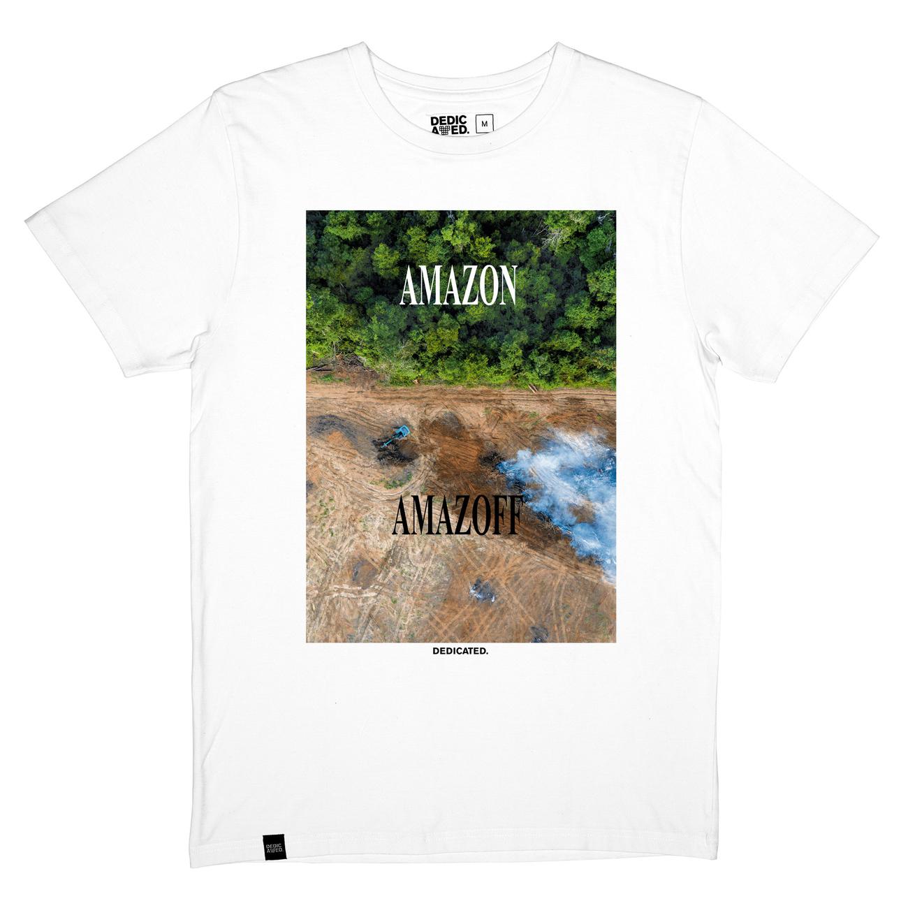 T-shirt Stockholm Amazoff White