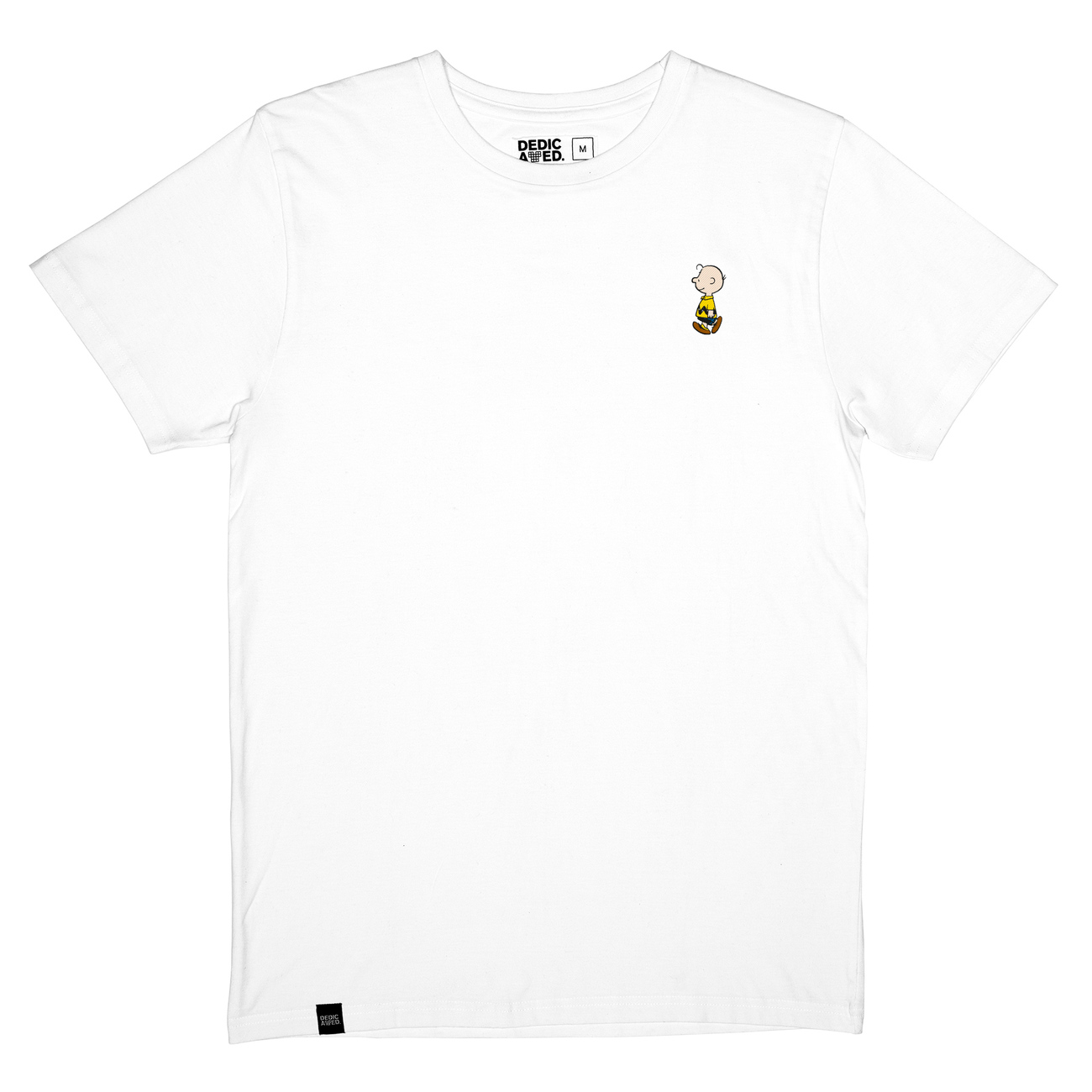 T-shirt Stockholm Charlie Brown White