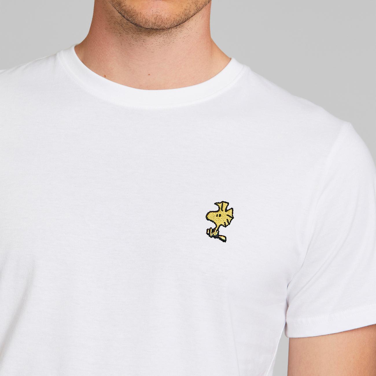 T-shirt Stockholm Woodstock White