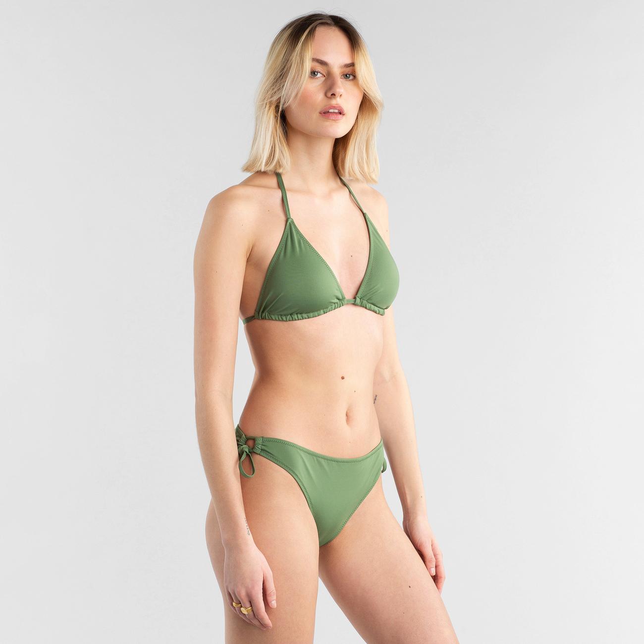 Bikini Top Sandnes Olive Green