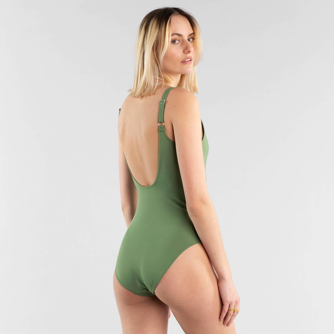 Sport Swimsuit Rana Olive Green