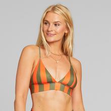Bikini Top Hemse Big Stripes Orange